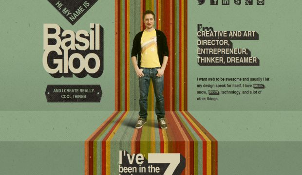 basil gloo - graphic design and web development expert