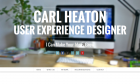 UX Designer and Consultant in Bangkok - Carl Heaton