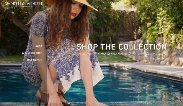 Online Hat Store - Worth and Worth by Orlando Palacios