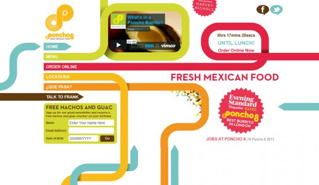 Fresh Mexican Food - Best Burritos in London - Poncho 8
