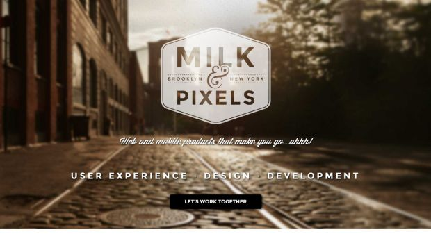 Milk and Pixels - UX Design and Development - PSD to Wordpress