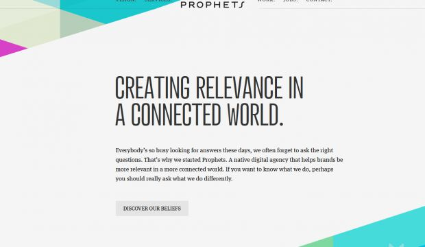 Prophets - A native digital agency