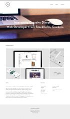 Alexander Almstroem Portfolio - Web Designer and WordPress Developer