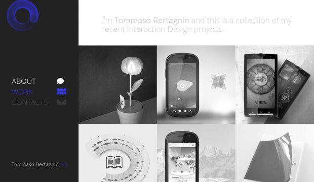 Portfolio of tommaso bertagnin interaction design for Product design website