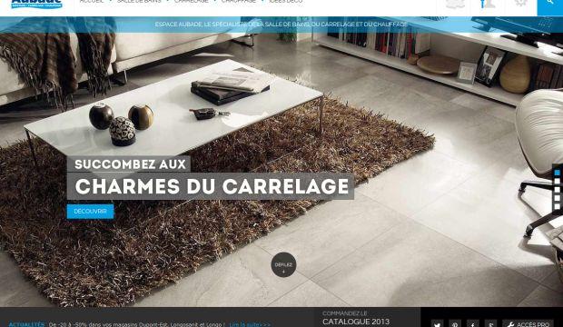 Espace Aubade - Webdesign inspiration www.niceoneilike.com