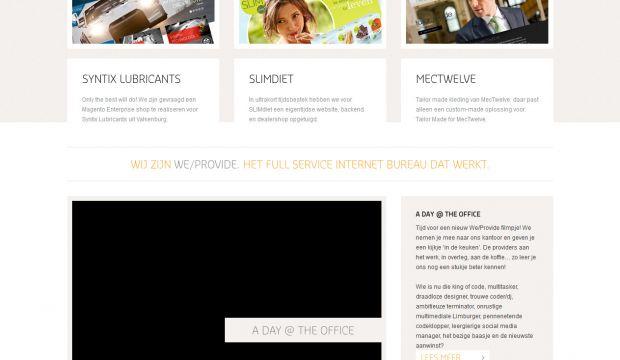Weprovide full service web design agency webdesign for Service design agency