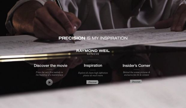 Precision is my Inspiration by RAYMOND WEIL
