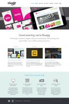 Bluegg - Creative and Digital Design Agency - Website and Identity Design