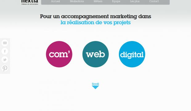 Communications agency Nextia - communication web and digital