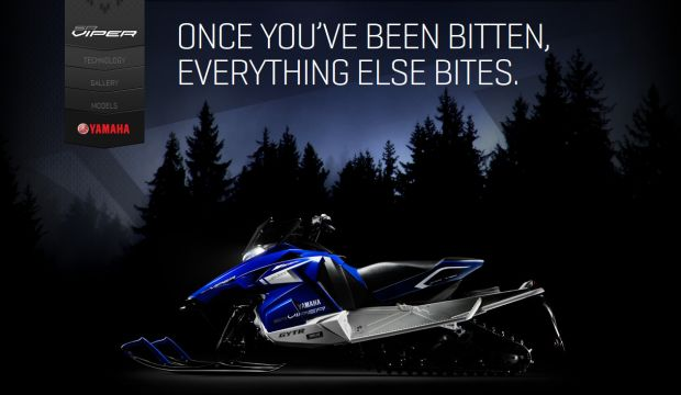 Yamaha SR Viper - Be the first to feel its bite