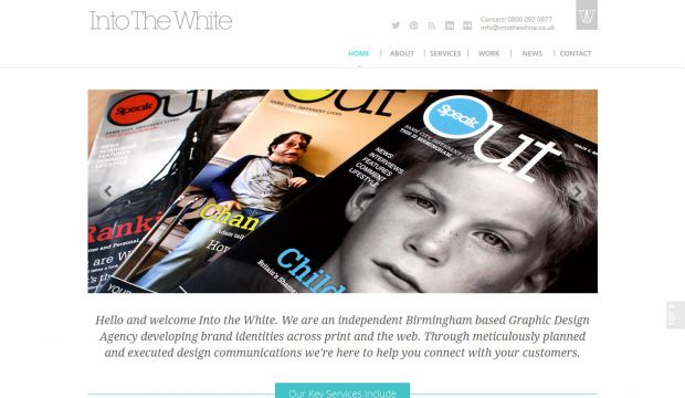 Into The White Design - Birmingham Based Graphic Design Agency