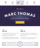 Marc Thomas - Freelance Digital Designer