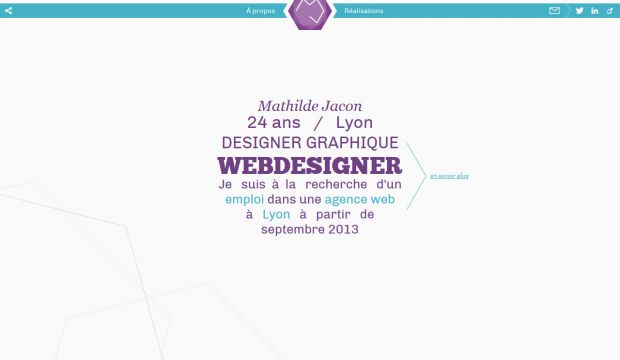 Portfolio of Mathilde Jacon - Web Designer and Graphic Designer
