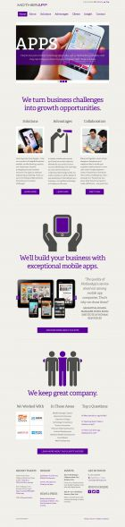 MotherApp - Turn business challenges into mobile opportunities