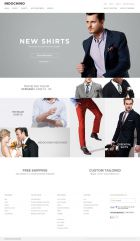 Custom Suits and Mens Suits - Indochino