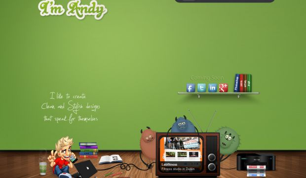 Portfolio of Andy - UI and UX designer - Webdesign inspiration www ...