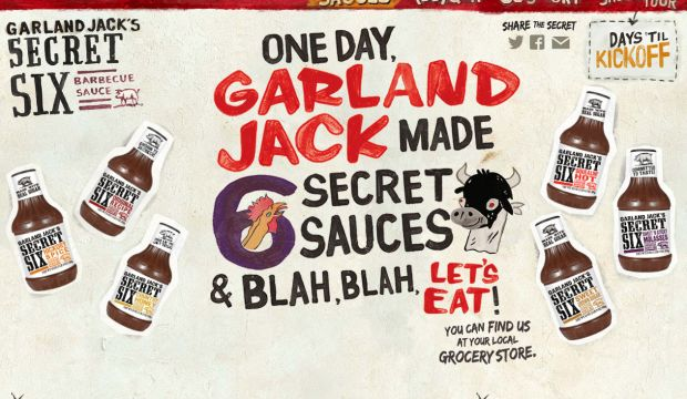 Garland Jacks Secret Six BBQ Sauce - Totally Sauceum