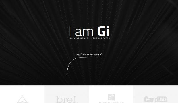 I Am Gi Ui Designer And Art Director Webdesign