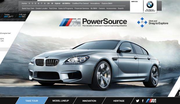 Bmw M Powersource Webdesign Inspiration Www Niceoneilike Com