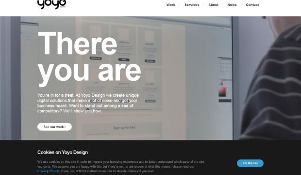 Digital Design and Development Agency - Yoyo Design 2013