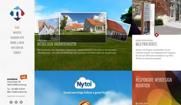 Webdesign Limburg and Drupal websites - Novation