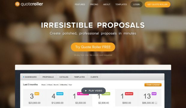 Proposal Software - Quote Roller