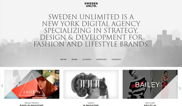 Sweden Unlimited is an interactive creative and web development agency
