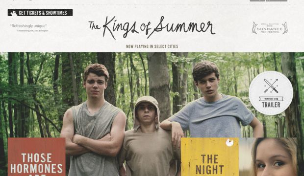 The Kings of Summer - Now Playing in Select Cities
