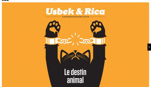 Usbek and Rica - the magazine that explores the future