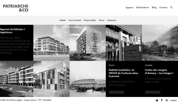 Best web design websites beautiful inspiration gallery for Architectural websites