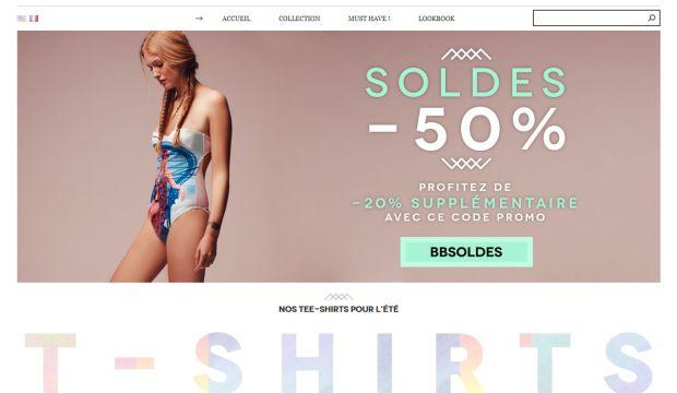 Brigitte bardot clothing collection brigitte bardot for Unique online shopping websites