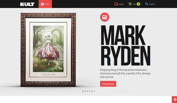 Kult studio online destination for art lovers for The best artist websites