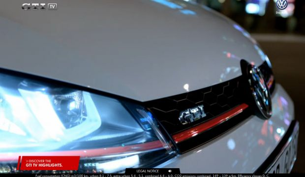 The new Golf GTI on GTI TV