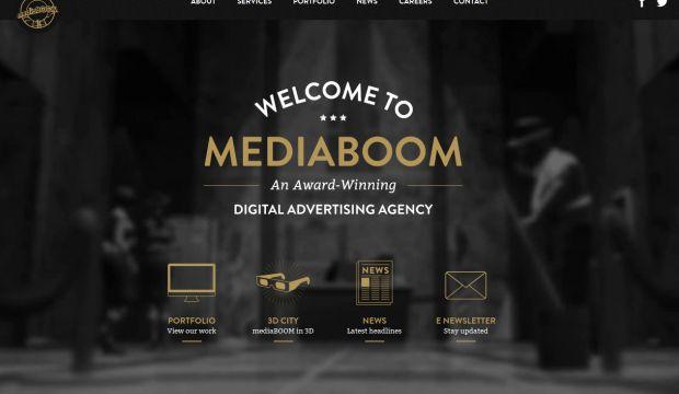 Award Winning Digital Advertising Agency - mediaBOOM - Webdesign ...