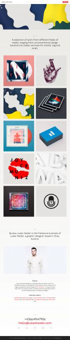 Bureau Lukas Haider a graphic designer based in Graz