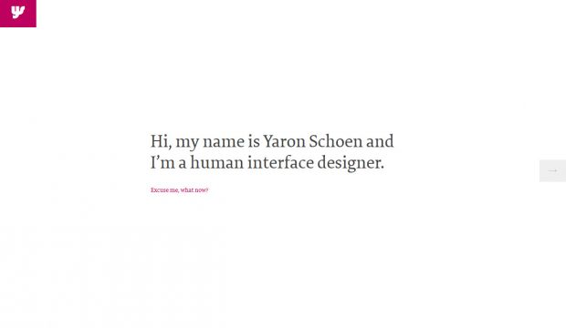 Yaron Schoen - Interface Design