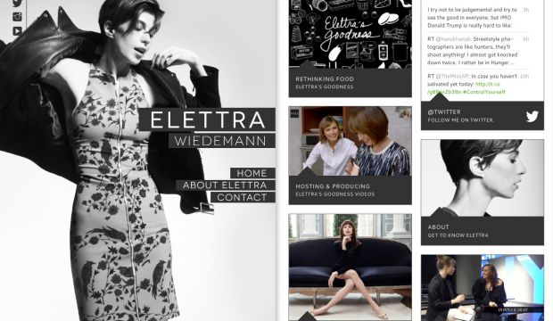Elettra Wiedemann - Native New Yorker fashion model