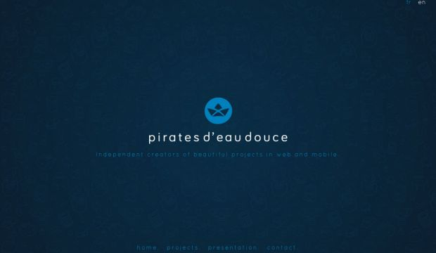 Pirates deau douce - Independent creators of beautiful projects in web and mobile