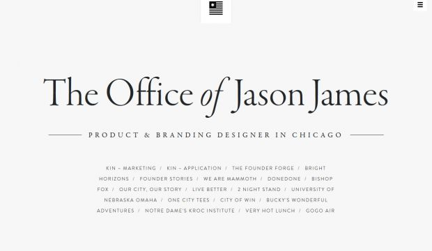 The Office of Jason James - Product and branding designer