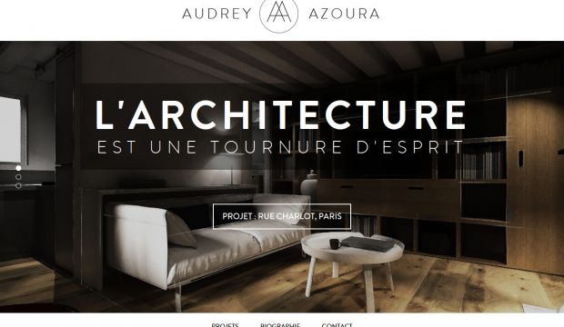 Audrey azoura interior designer webdesign inspiration Interior decorating websites