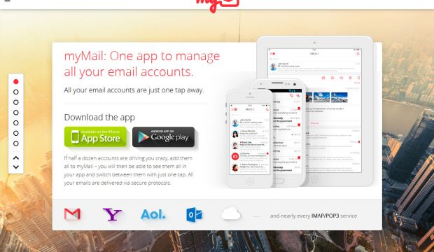 myMail - the smartest mobile app for your email accounts