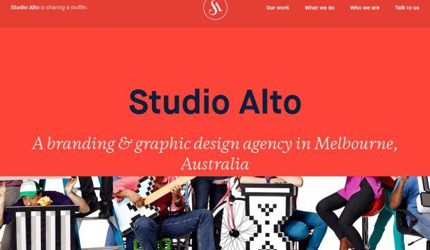 Studio Alto Brand And Graphic Design Agency In Melbourne Webdesign Inspiration Www Niceoneilike Com