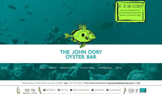 The John Dory - seafood restaurant
