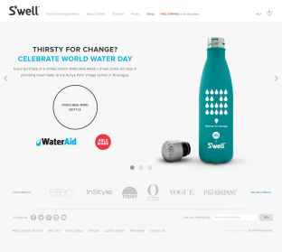 Swell Bottle - The Only Reusable Bottles That Look Great & Do Good