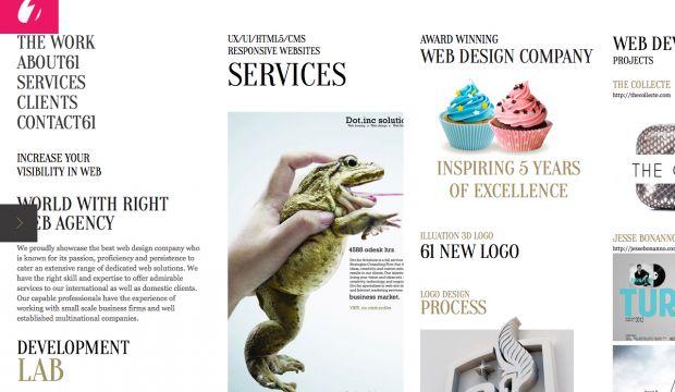61designstreet - award winning web design company - Webdesign ...
