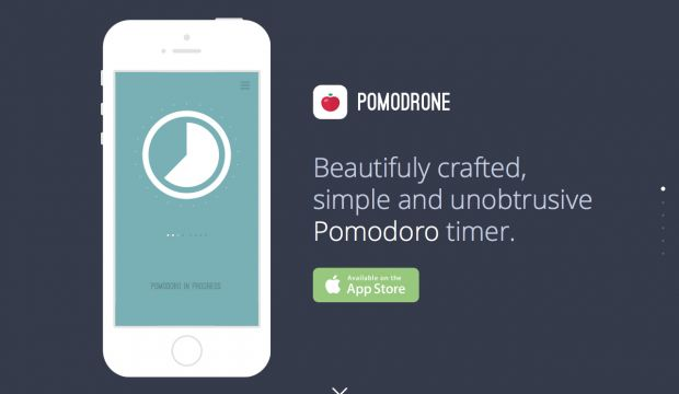 Pomodrone - iPhone APP for Pomodoro Technique