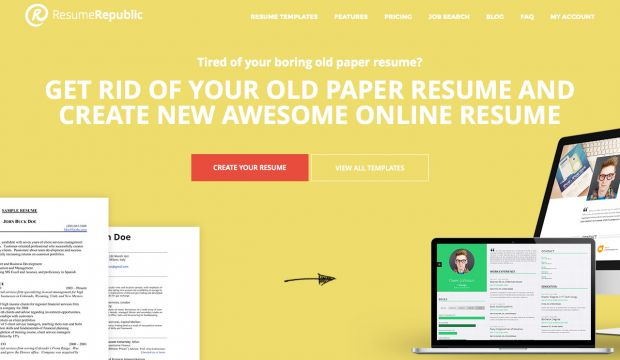 free resume hosting provider and online resume builder resume republic - Resume Builder Website