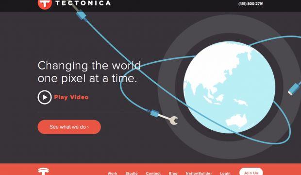 tectonica studios 2014 webdesign inspiration www