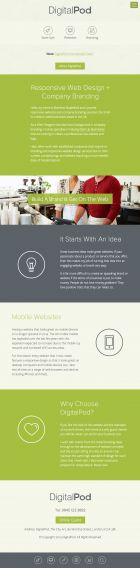 Responsive and Mobile Website Design Service by DigitalPod