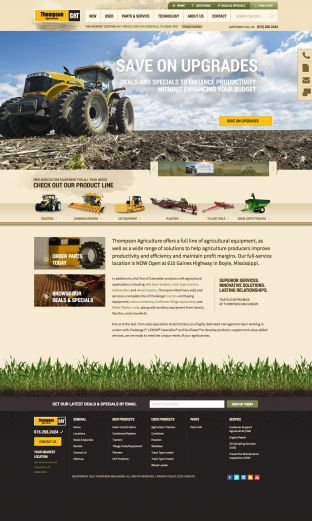 Agriculture Equipment and Machinery - New and Used - Thompson Agriculture TN and MS